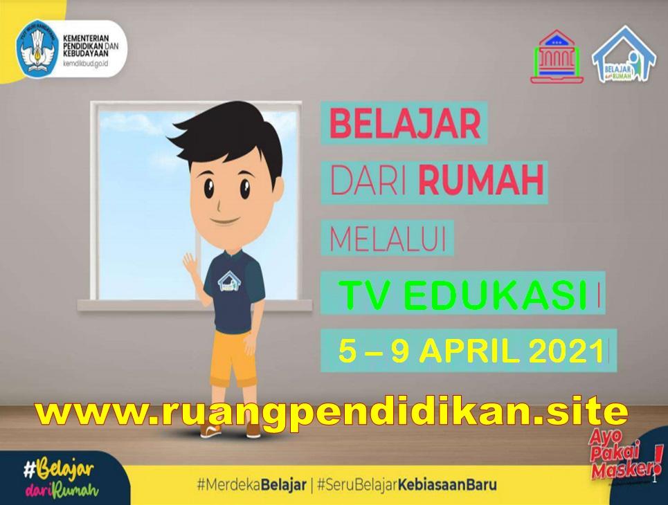 Jadwal BDR Di TV Edukasi