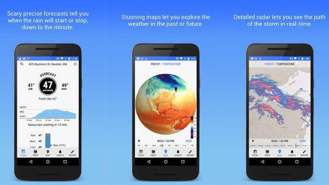 7 Aplikasi Ramalan Cuaca Android Terakurat dan Terbaik