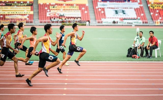 مسافات الجري السريع