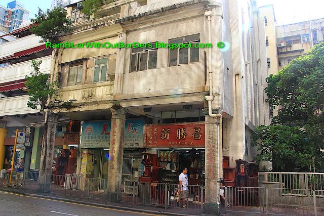 Shophouses, Shanghai Street, Yau Ma Tei, Hong Kong