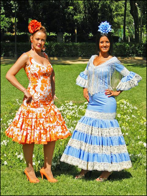 Trajes de flamenca actuales