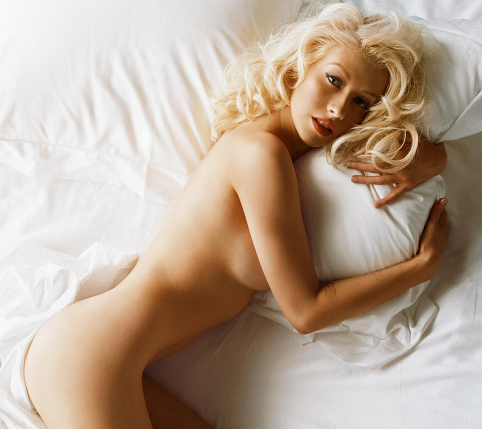 Christina Aguilera Naked Photos