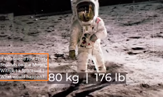 If You Spend Just Thirty Seconds on the Moon Without a Spacesuit | What would happen?