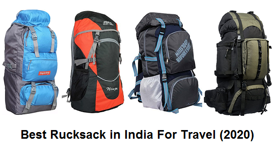 Best Rucksack in India For Travel (2020)