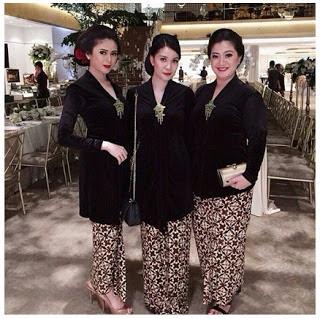 Model Baju Kebaya Batik Seragam Kartinian Modern Terbaru