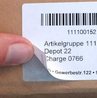 Etiketten für Laserdrucker, A4-Bogen