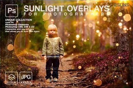 Natural Light Overlays Lightbeam