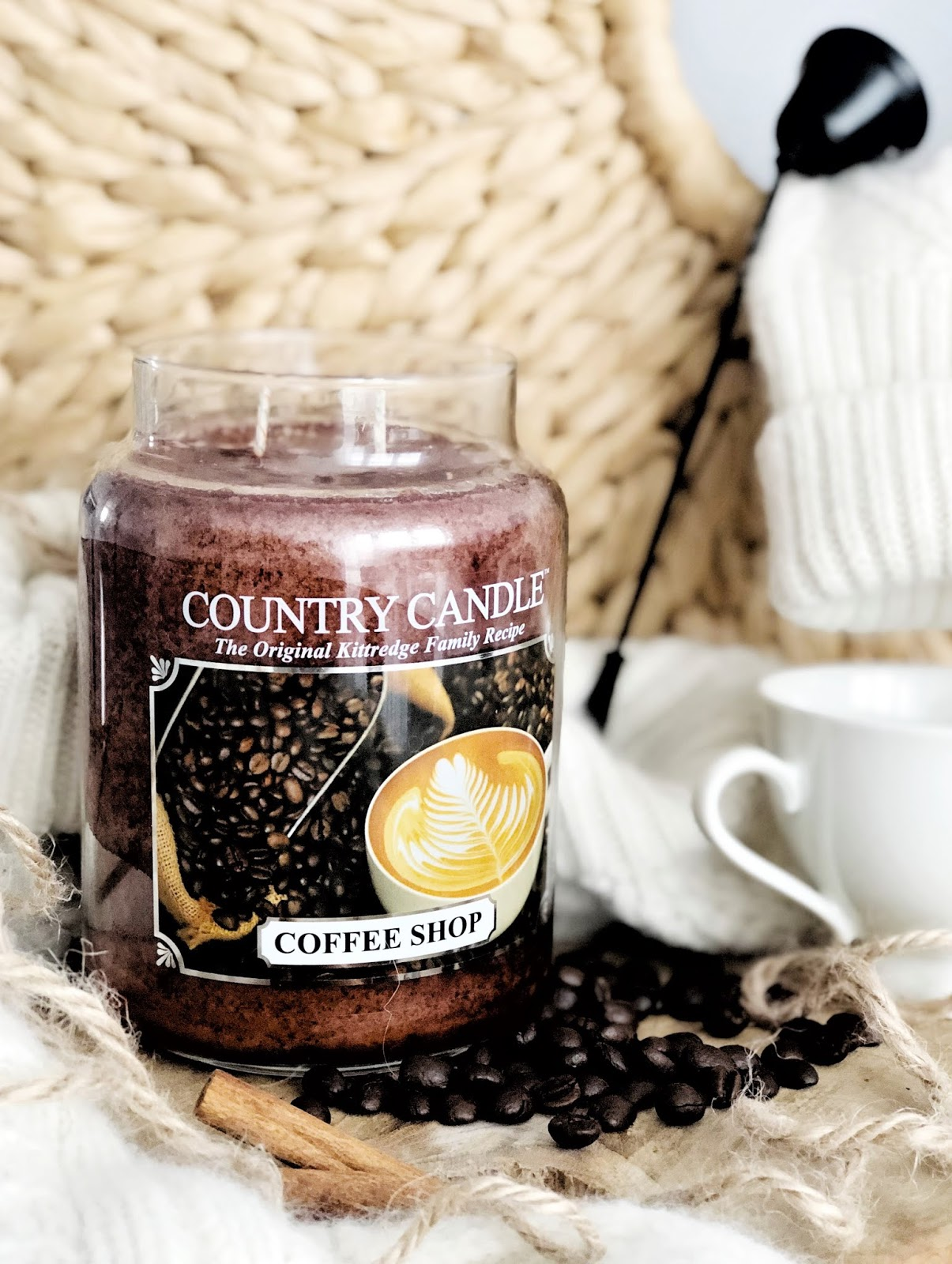 Coffee Shop Country Candle