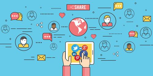 Build a social media presence