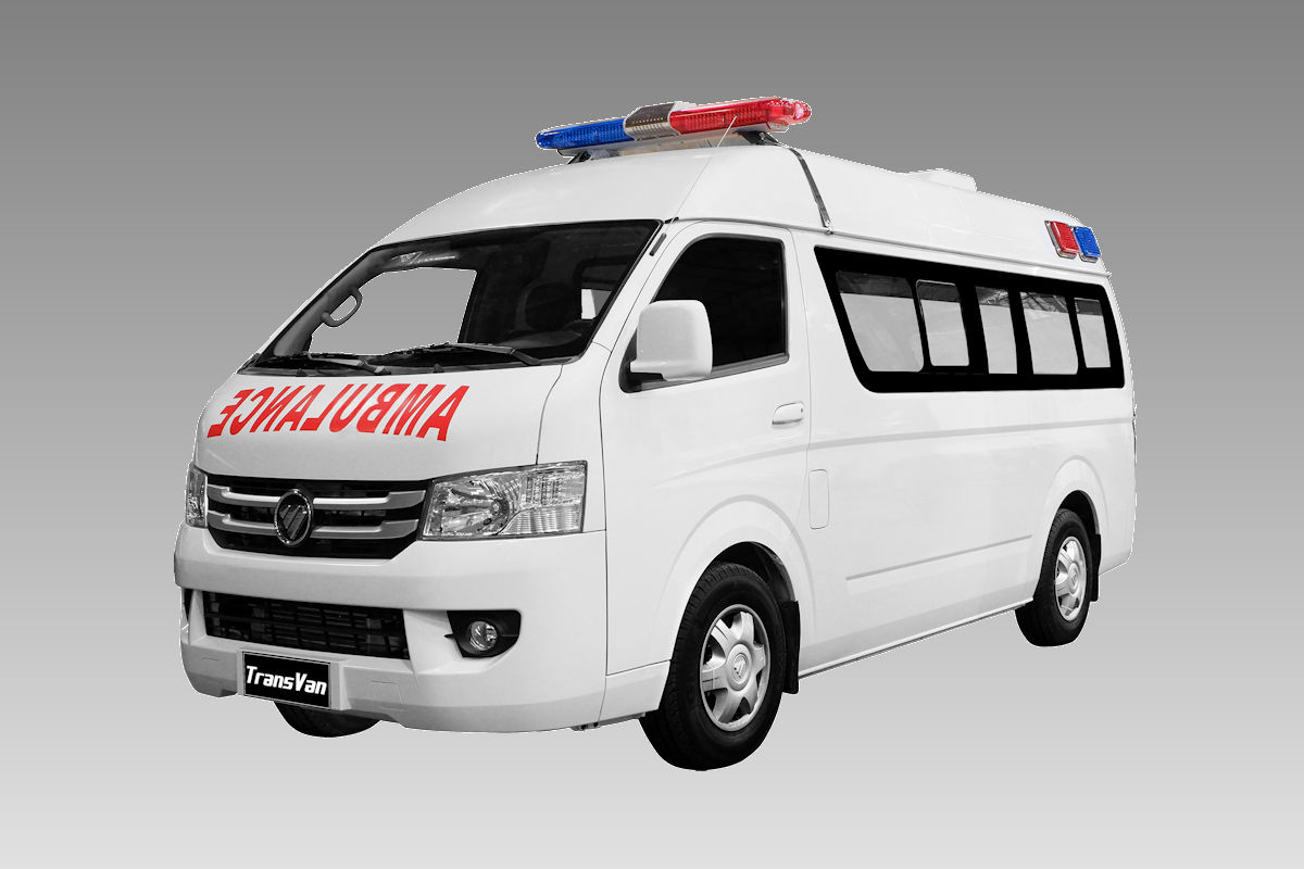 Foton Philippines Donates Transvan Hr Ambulance To Philippine Red