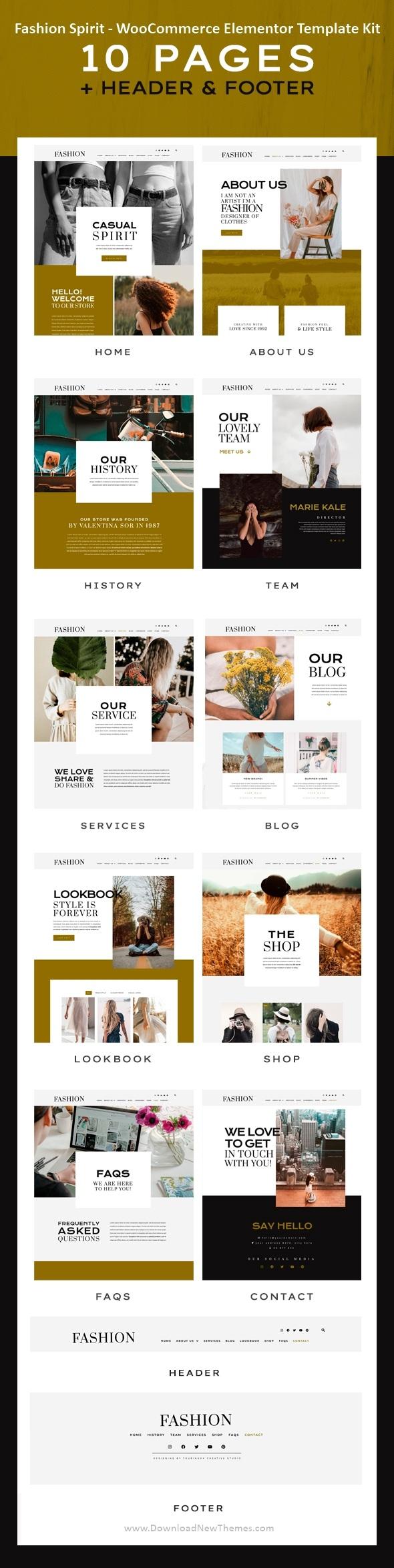 Fashion WooCommerce Elementor Template Kit