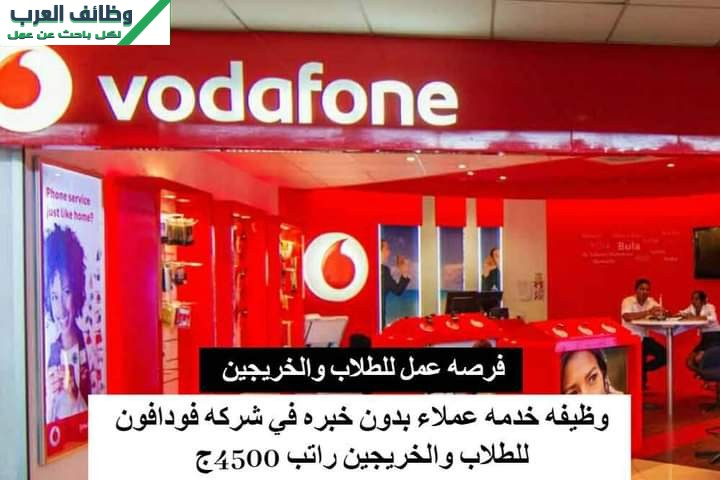Vodafone Egypt Customer Care Advisor - Cairo
