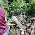 Mesin Mati di Tanjakan, Truk Muatan Pasir Terjun ke Sungai