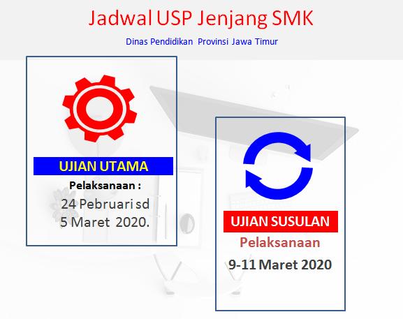 Jadwal USPBK SMK 2020