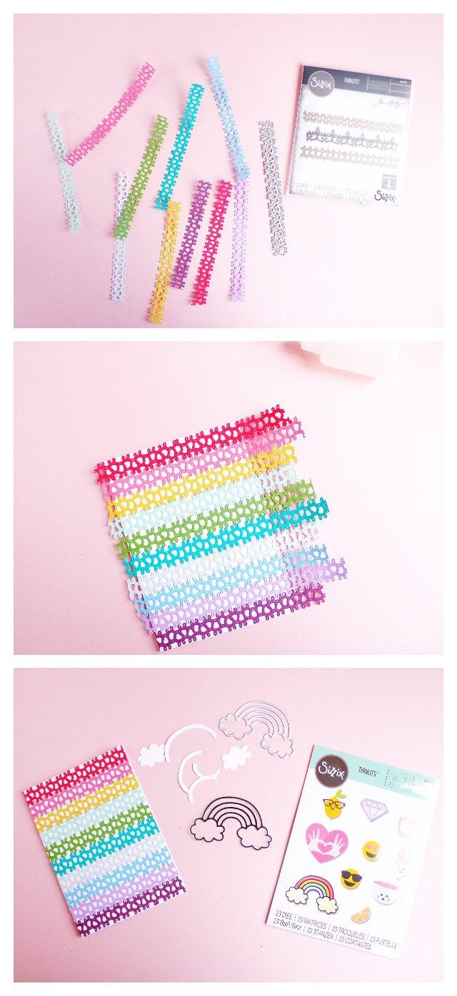 Biglietto arcobaleno – Rainbow card