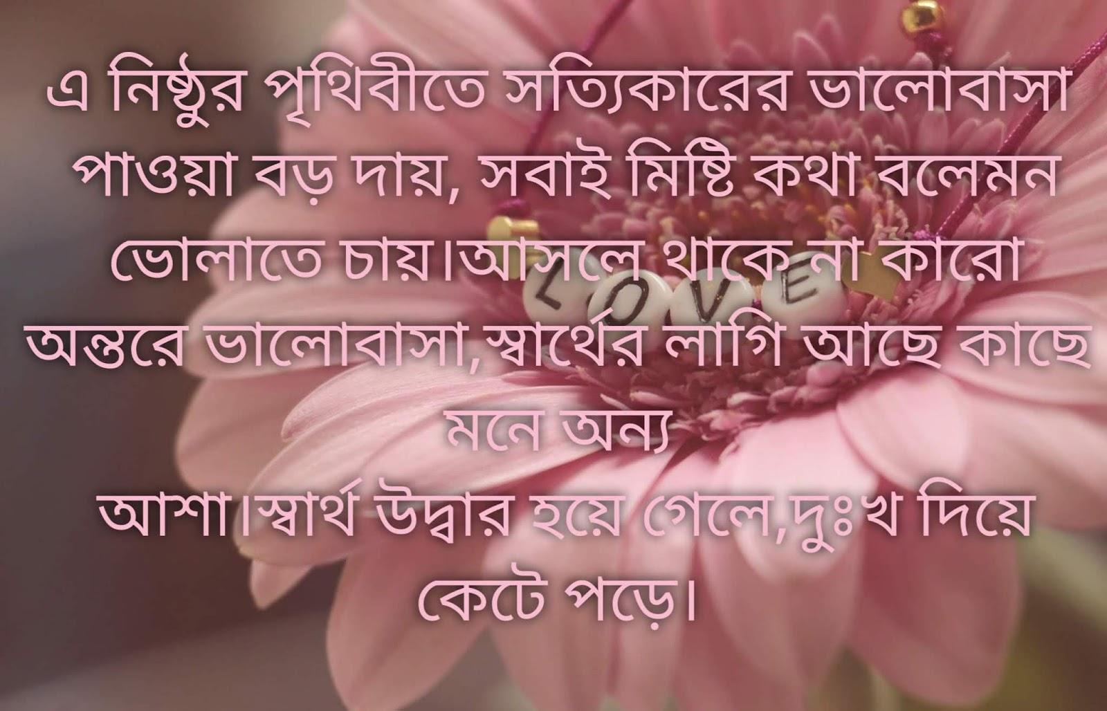 Bengali Shayari image download