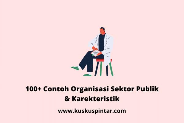 Contoh Organisasi Sektor Publik