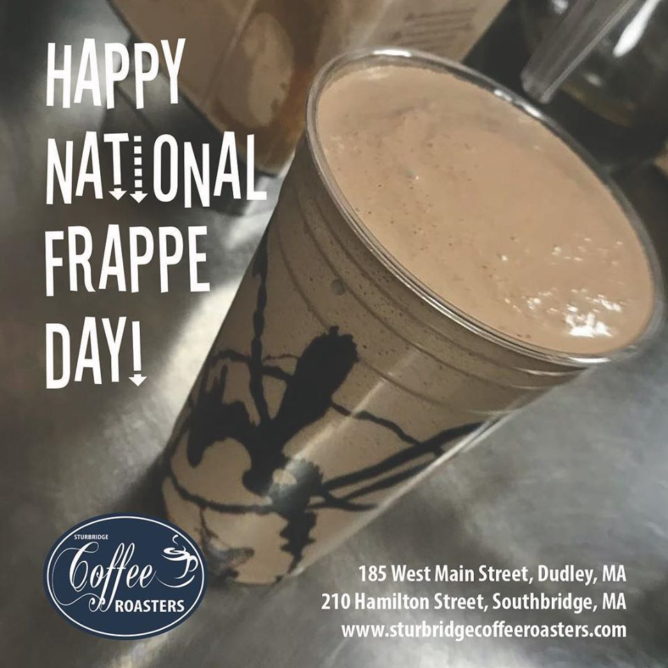 National Frappe Day Wishes Beautiful Image