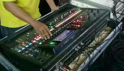 Setting mixer dangdut