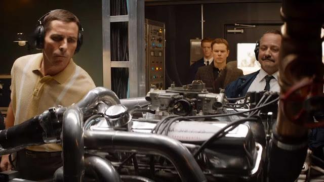 Matt Damon Christian Bale James Mangold | Ford v Ferrari