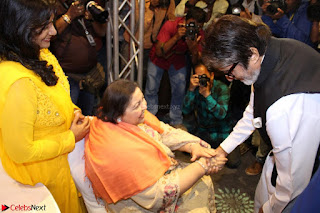 Amitabh Bachchan Launches Worlds 1st Mobile App Abc Of  Health 004.JPG
