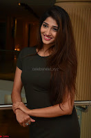 Priya Vadlamani super cute in tight brown dress at Stone Media Films production No 1 movie announcement 058.jpg