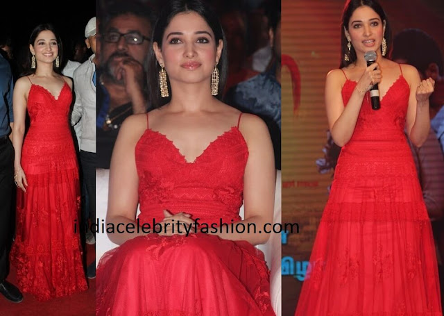 Tamannaah Bhatia in YolanCris Gown Publish