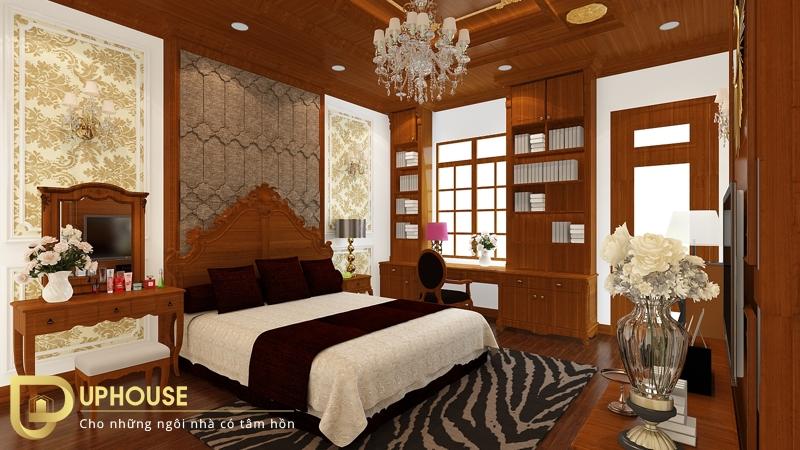 Phòng ngủ tân cổ điển đẹp 07