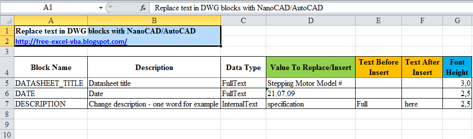 How to replace text in multiple blocks of DWG files with