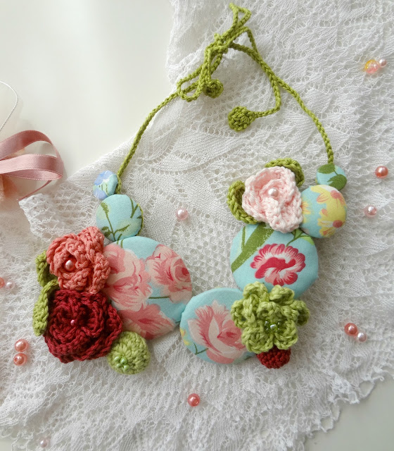Make a Mixed Media Necklace – Gorgeous Spring