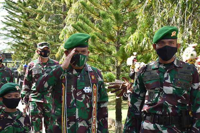 Wadanpussenif Siapkan Prajurit Yonif 611/Awang Long Menjadi Atlit Tempur Dalam Pelaksanaan Tugas Operasi