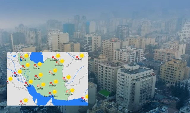 iklim negara iran