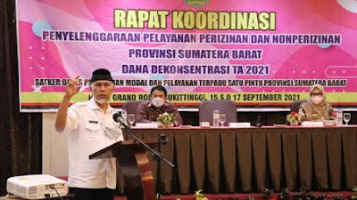 Percepat Investasi, Gubernur Minta Kabupaten/kota Tindaklanjuti UU Ciptakerja