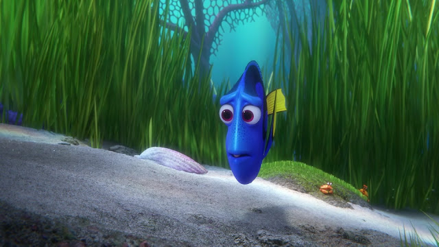 Dory searches for her parents and her self