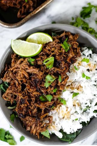 Beef Barbacoa (Paleo, Whole30 + Keto) Slow Cooker or Instant Pot  - Make this Paleo + Whole30 beef barbacoa in your Instant Pot or Slow Cooker. It's a little smoky with some spice and citrus, and it makes lots of leftovers!