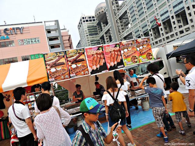 Puestos de Comida Callejera en Tokio