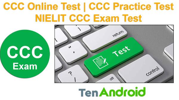 CCC Online Test   CCC Practice Test   NIELIT CCC Exam Test