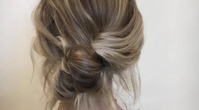 coiffure tendance - été 2017 - tendance capillaire - chignon simple - chignon décoiffé