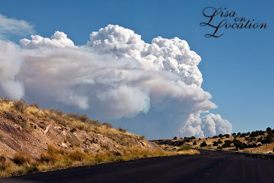 Wallow Fire, as seen from outside of St. John's, Arizona, on U.S. 180 June 3, 2011. New Braunfels destination photographer