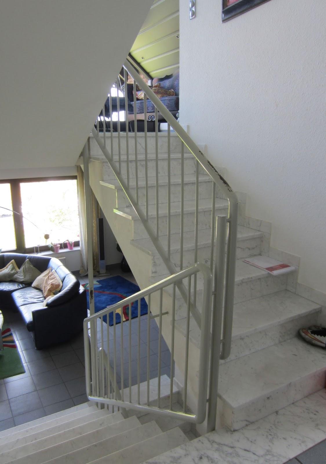 treppengel nder edelstahl innen fr bel metallbau. Black Bedroom Furniture Sets. Home Design Ideas