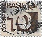 Selo Tipo cifra - 10