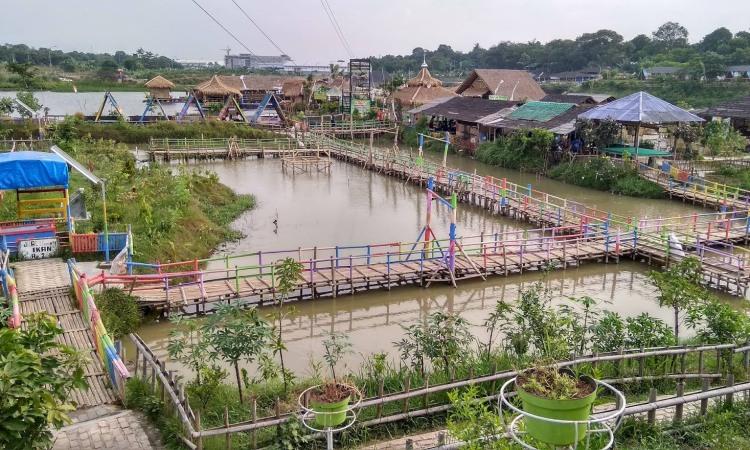 Taman Limo Jatiwangi, Destinasi Wisata Bernuansa Pedesaan di Bekasi