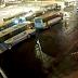 Conductor fue agredido y al irse atropelló a dos personas en medio de movilización de transportistas