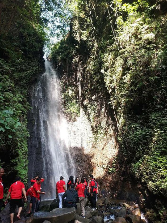 Raflinews Wisata Air Terjun Srambang Park Ngawi