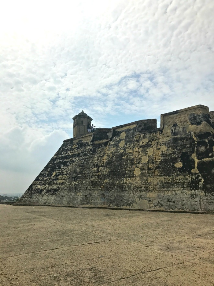 fortress walls in colombia