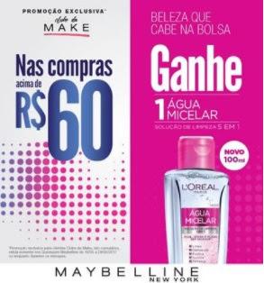 Promoção Clube Make Maybelline Beleza Cabe na Bolsa