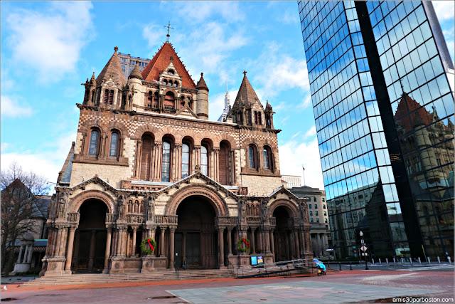 Trinity Church en Copley Square, Boston