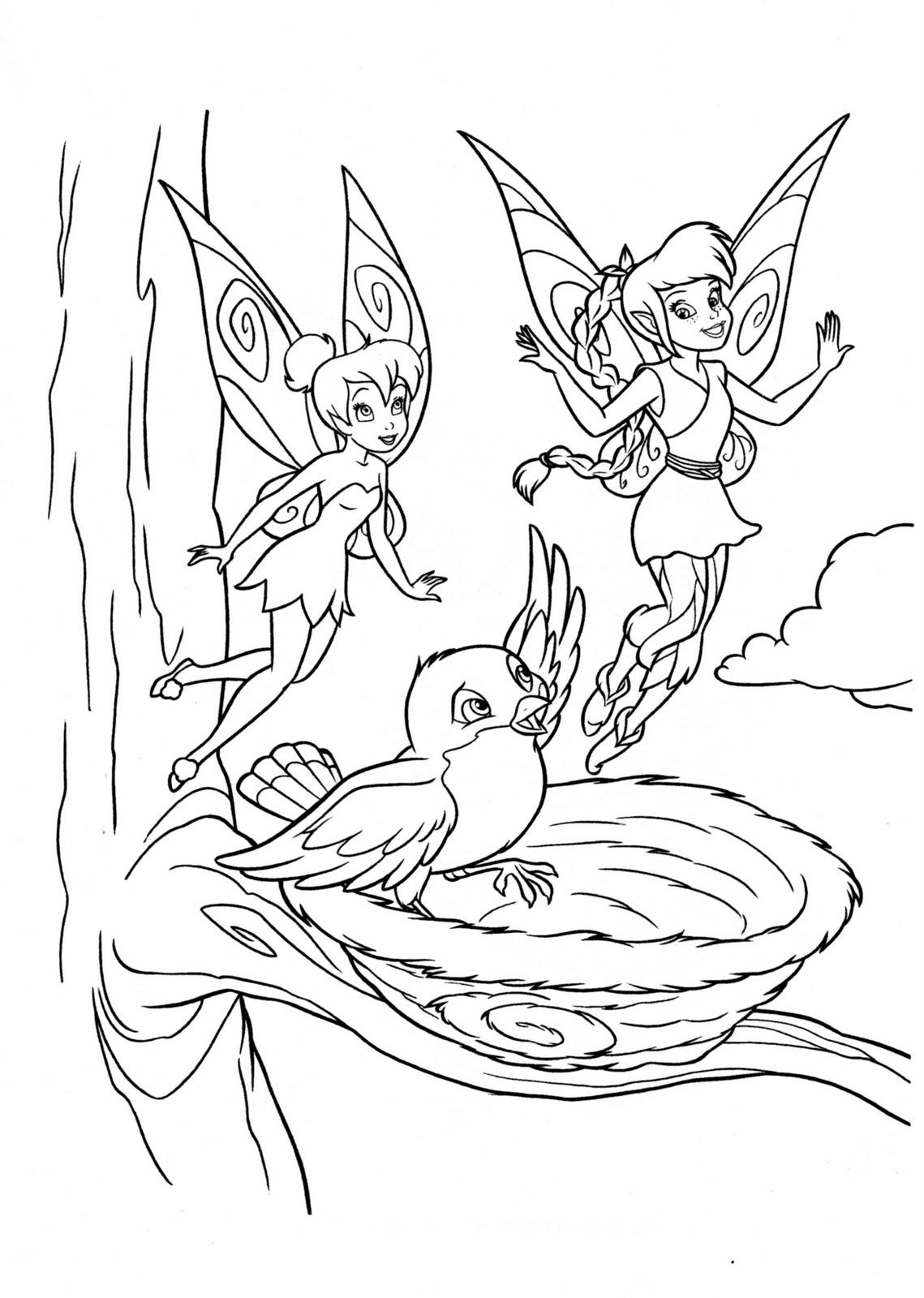 Desenhos Para Pintar Tinker Bell Para Pintar