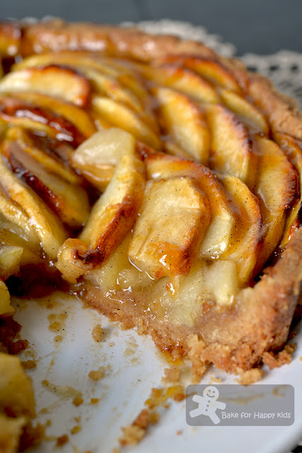 easy fuss free brown sugar apple tart less sugar