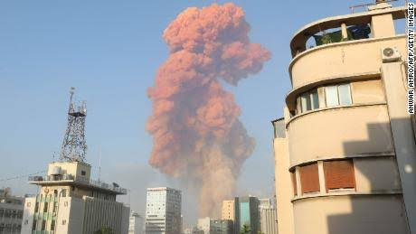 Powerful explosion rocks Lebanon's capital Beirut, dozens killed, thousands injured